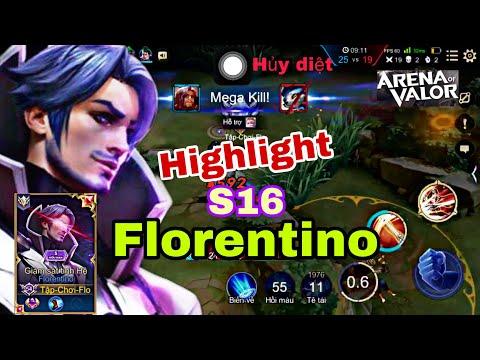 Tập Chơi Flo highlight | quái vật mang tên Florentino s16 | Liên Quân Mobile