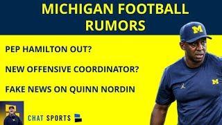 Michigan Football Rumors: Offensive Coordinator Update, Jim Harbaugh's Plans, & Urban Meyer's Help