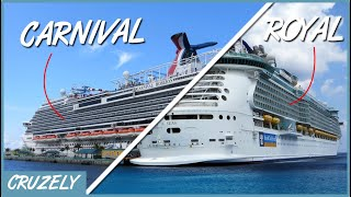 Carnival vs. Royal Caribbean: 11 Differences Between the BIG Cruise Lines