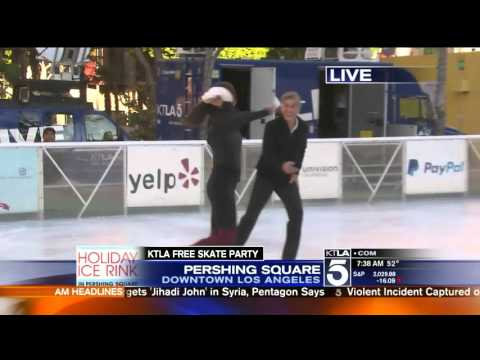 pershing square ice rink youtube. Black Bedroom Furniture Sets. Home Design Ideas