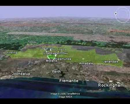 Save Perth Hills (Red Perth Hills)