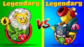 PVZ HEROES Battles Plants vs Zombies Heroes Battle Between Legendary Cards Plants vs Zombies Heroes