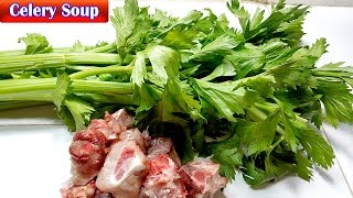 Celery  Soup Recipes, Culinary Cooking, Homemade food