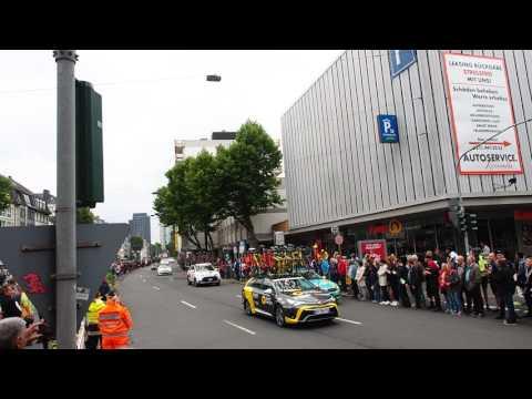 Grand Depart Düsseldorf 2017 Tour de France Autos