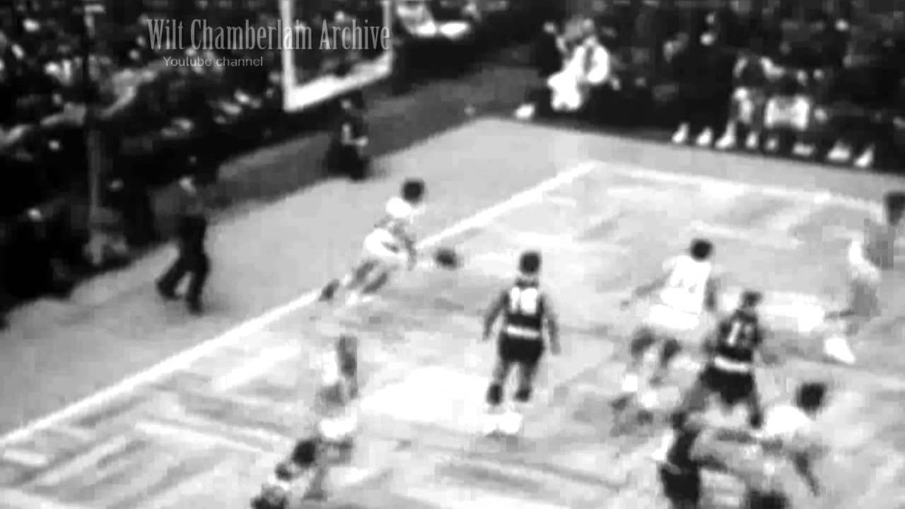 Bill Sharman Full Court Shot 1957 ASG