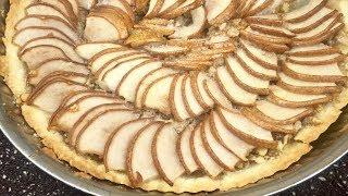 Песочный пирог с грушами. Ну очень вкусно!!!