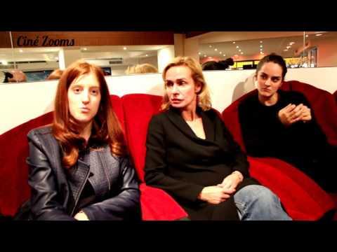 LE CIEL ATTENDRA - Interview : NOEMIE MERLANT, NAOMI AMARGER et SANDRINE BONNAIRE