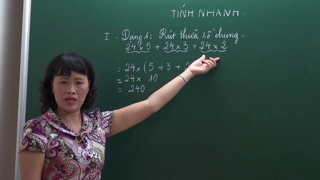 Tính nhanh phần 1 - Bồi dưỡng Toán 3 - Cô Nguyễn Thị Hoa - HOCMAI