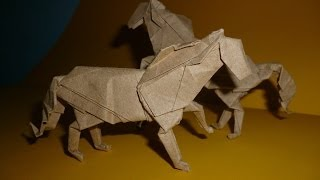 Origami Horse Instructions (j. Aníbal Voyer)