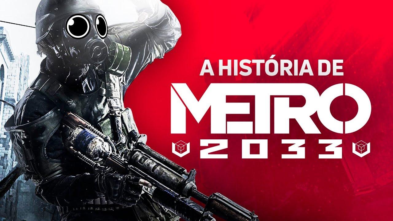 ZANGADO - A HISTÓRIA EXPLICADA DE METRO 2033 (Redux) - Resumo do jogo