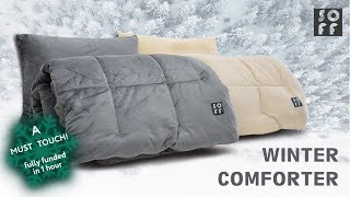 SOFF Winter Comforter | The Coziest Cuddle gear for the Freezing Weather