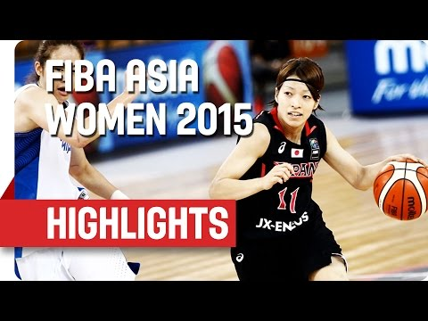 Chinese Taipei v Japan  - Game Highlights - Group A - 2015 FIBA Asia Women's Championship