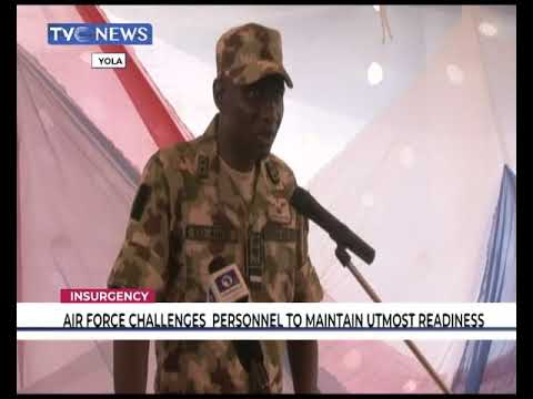 Air Force challenges personnel to maintain utmost readiness