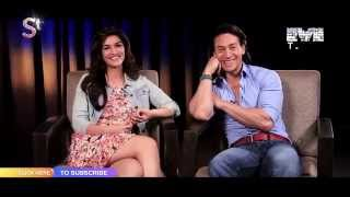 """Tiger Shroff & Kriti Sanon talk about """"Chal Wahan Jaate Hain"""" Exclusive only on MTunes HD"""