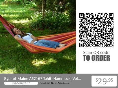 Byer Of Maine Tahiti Hammock From Opentip.com