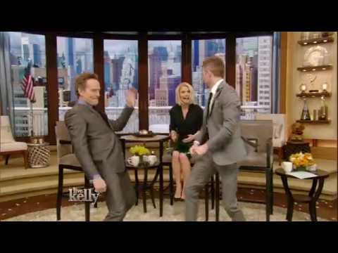 Bryan Cranston Walks Out Dancing