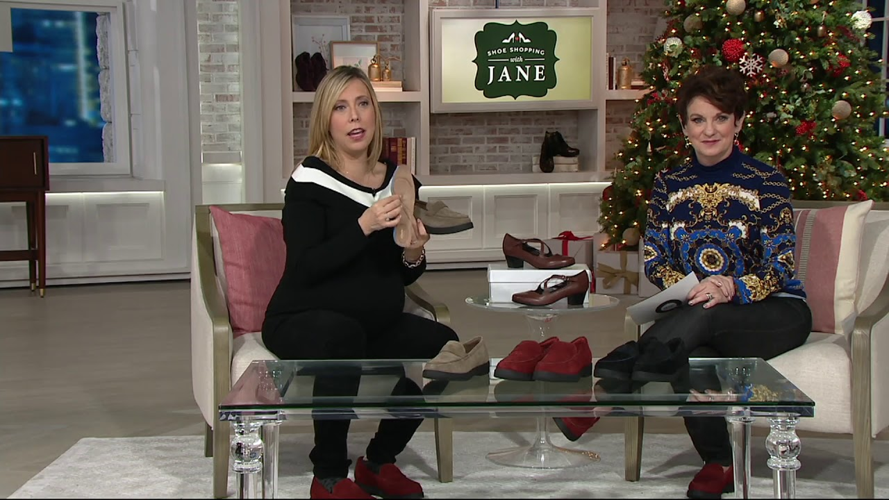 f4e52294b51 Clarks Artisan Suede Cleated Loafers - Bellevue Hazen on QVC - YouTube