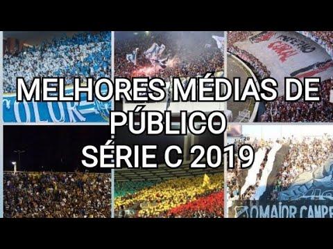 TOP 10 - Melhores médias de público entre times da Série C.