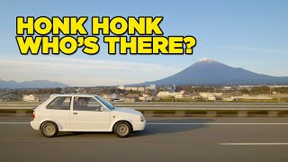 homepage tile video photo for Our New Car Arrives from Japan [HONK if you're a JDM Nugget]