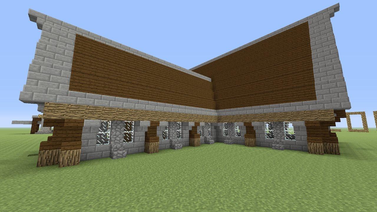 minecraft een groot huis bouwen 24 youtube