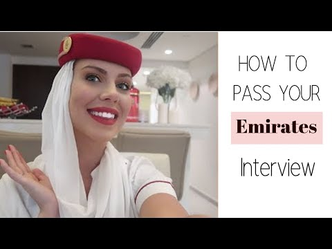 HOW TO BECOME EMIRATES FLIGHT ATTENDANT???? - RECRUITMENT PROCESS - INTERVIEW TIPS -