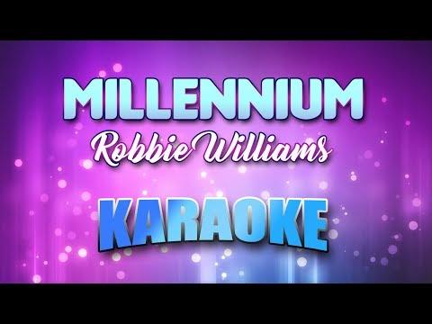 Robbie Williams - Millennium (Karaoke version with Lyrics)