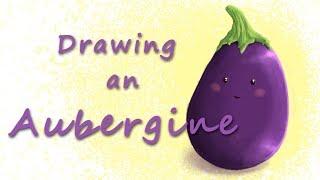 ❧ Art Attack | Drawing Abby the Aubergine | FairyWorld84 ❦