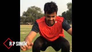 Indian Cricketers Workout