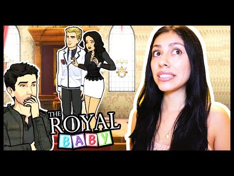 I GOT CAUGHT KISSING THE PRINCE! - THE ROYAL BABY (Episode) - App Game