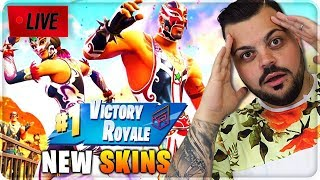 🔴 LIVE FORTNITE NUOVE SKIN [10,000 LIKE LE COMPRO]
