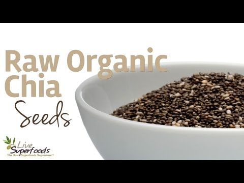 All About Raw Organic Chia Seeds - LiveSuperFoods.com
