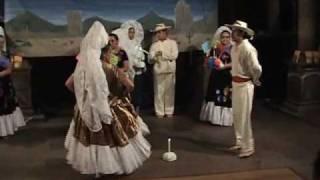 "Baile folklorico mexicano danzas tehuanas ""Sandunga"" la Llorona """