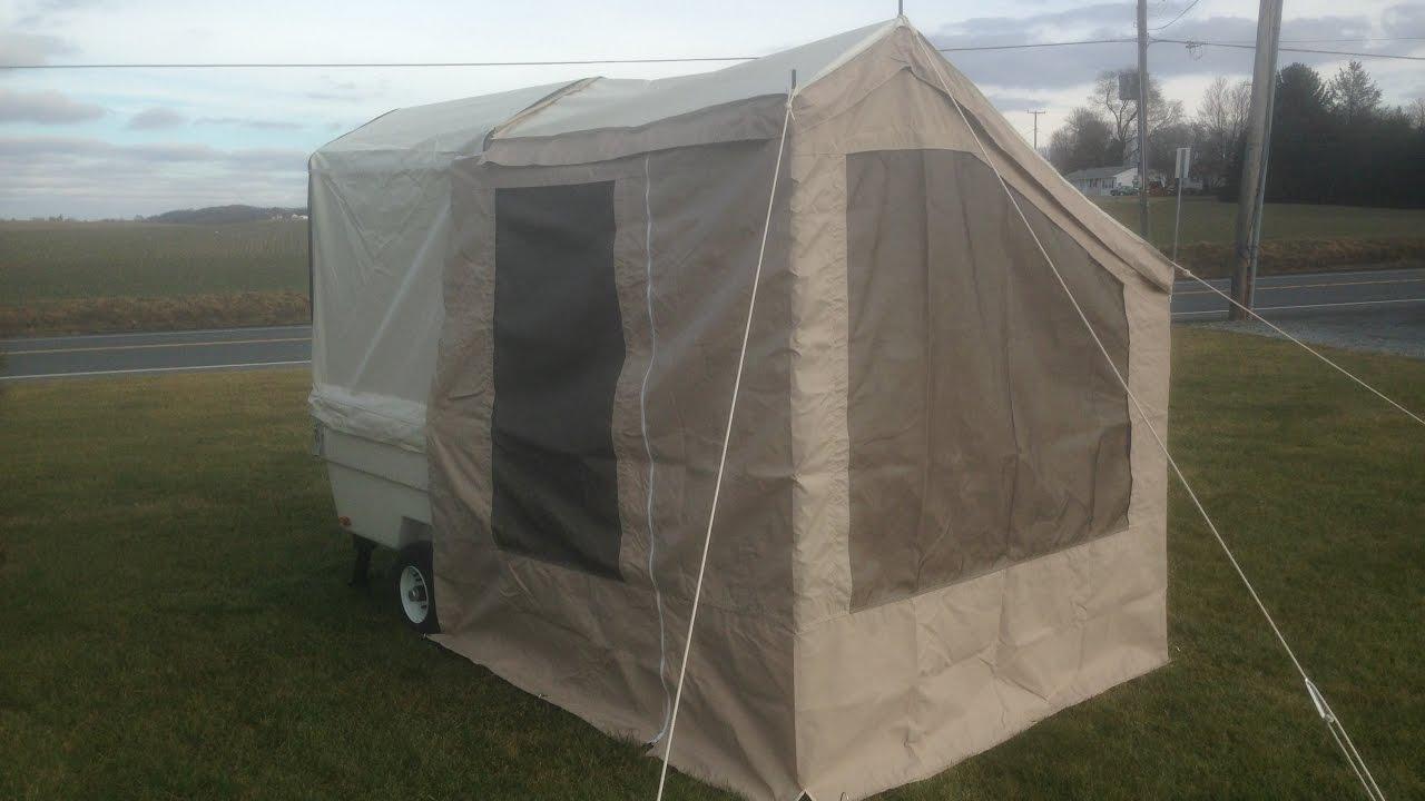 & Add-a-Room for the Kompact Kamp Mini Mate Camper - YouTube