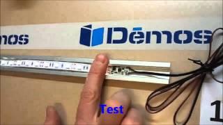 Dotekový spínač pro LED pásky do ALU profilů kód 215666 a 215772