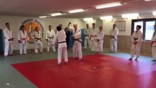 Nage no kata på Färgelanda judoklubb. Del 5 Uki goshi