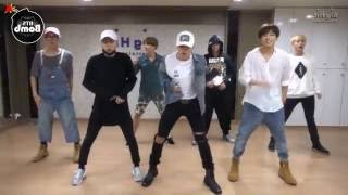Repeat youtube video BTS 'Silver Spoon (Baepsae)' mirrored Dance Practice [eng sub]