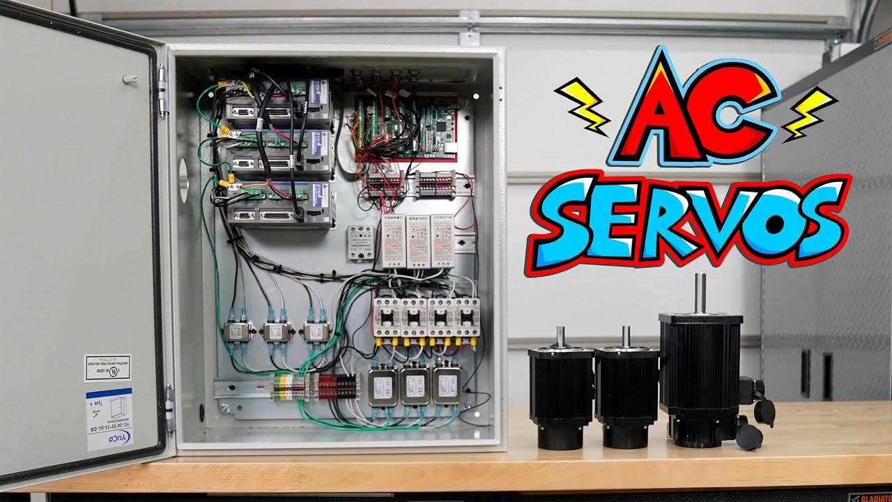 Download AC Servo Motors and FogBuster Mist Coolant (DIY CNC Mill Upgrades 1)