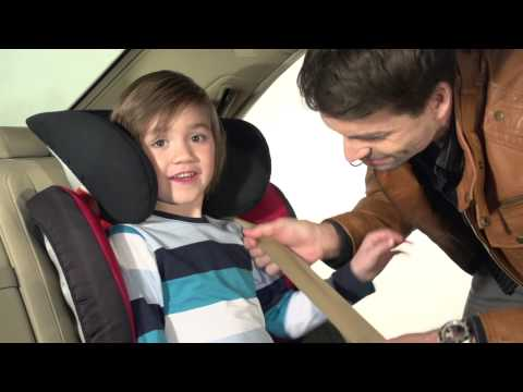 Детское автокресло Britax Roemer Kidfix SL (группа 2-3, от 15 до 36 кг). Видео №1
