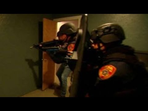 Pete Hegseth finds out how SWAT teams neutralize threats