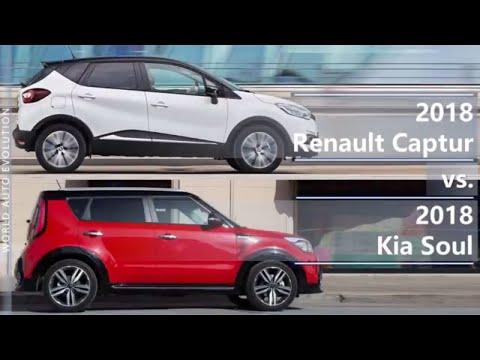 2018 Renault Captur Vs 2018 Kia Soul (technical Comparison)