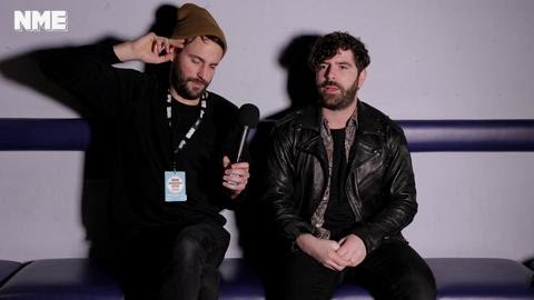 1f27571eb2437 NME Awards 2016 - Foals Taking Time Out - YouTube
