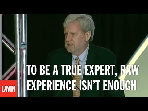 Anders Ericsson: To Be a True Expert, Raw Experience Isn't Enough