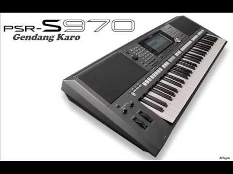Kuinget Sanga I kuta Gendang Keyboard Karo Salih Psr970