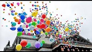 видео Запуск воздушных шаров