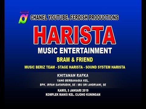 LIVE HARISTA MUSIC ENTERTAINMENT, 3 JANUARI 2019 CIJOHO KUNINGAN Part. Malam