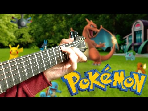 Pokémon Theme Song [Fingerstyle Guitar Cover by Eddie van der Meer]