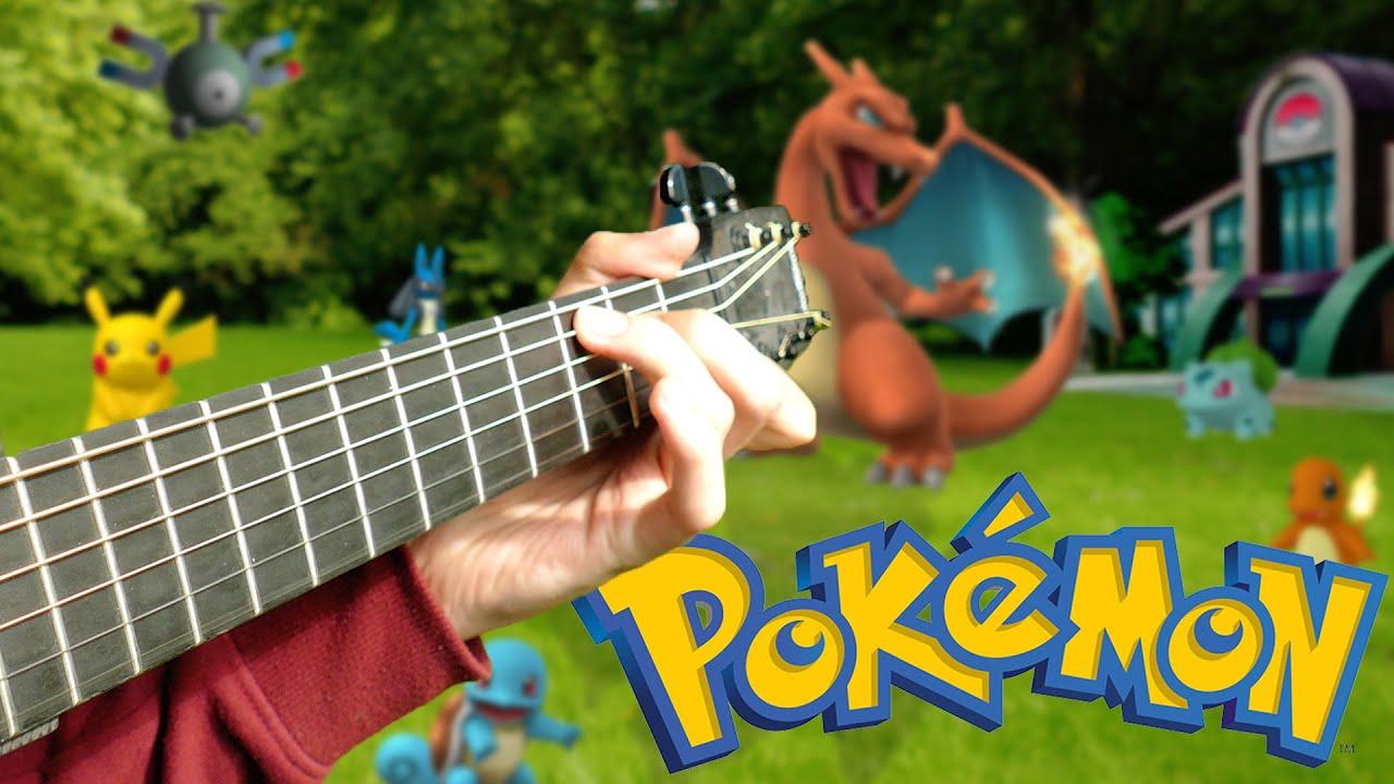 Pokmon Theme Song Fingerstyle Guitar Cover By Eddie Van Der Meer