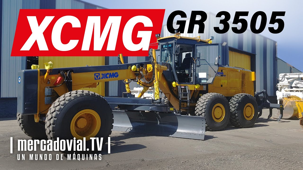 Motoniveladora Minera XCMG GR 3505 - Cummins 350 HP - Peso Operativo 34.000 kg - XCMG Chile