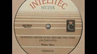 White Mice Nothing Never Done Before The Time (Alternate) w/ Version - DJ APR