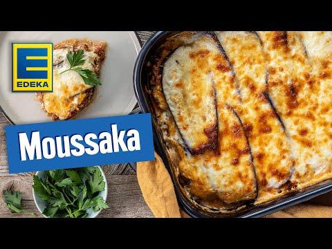 Download Traditionelles Moussaka-Rezept   Griechischer Auberginenauflauf mit Hackfleisch